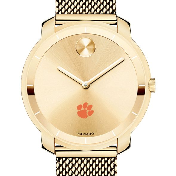 Clemson Women's Movado Gold Bold 36 - Image 1