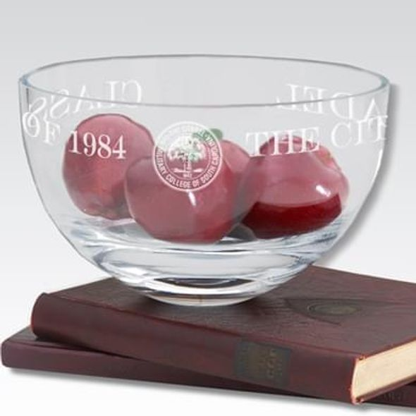 "Citadel 10"" Glass Celebration Bowl"