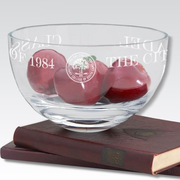 "Citadel 10"" Glass Celebration Bowl - Image 2"