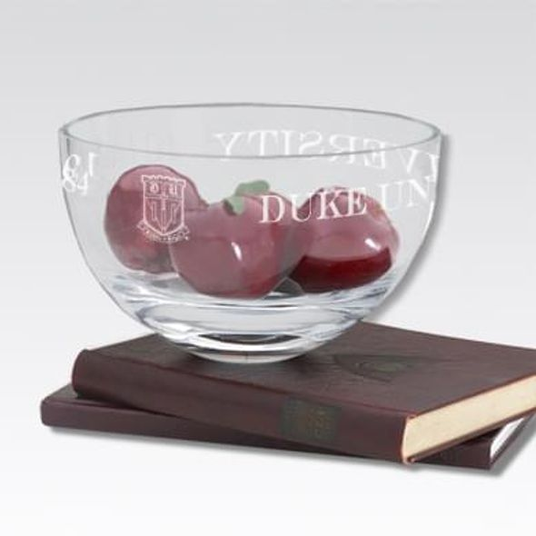 "Duke 10"" Glass Celebration Bowl - Image 1"
