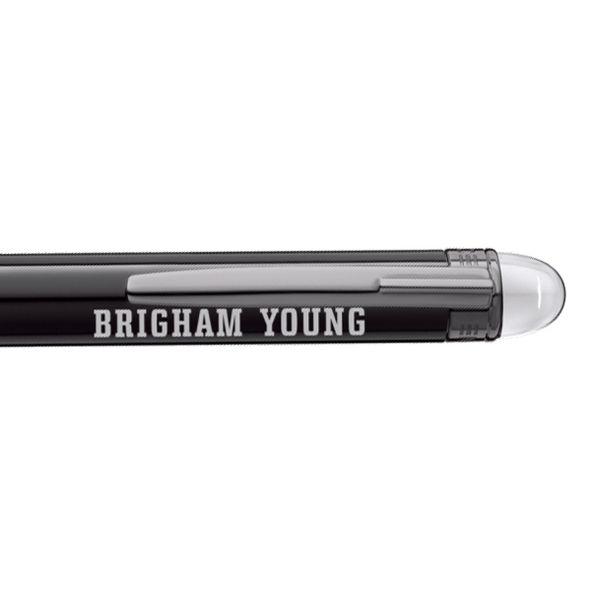 Brigham Young University Montblanc StarWalker Ballpoint Pen in Ruthenium - Image 2