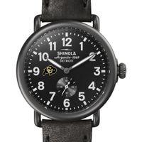 Colorado Shinola Watch, The Runwell 41mm Black Dial