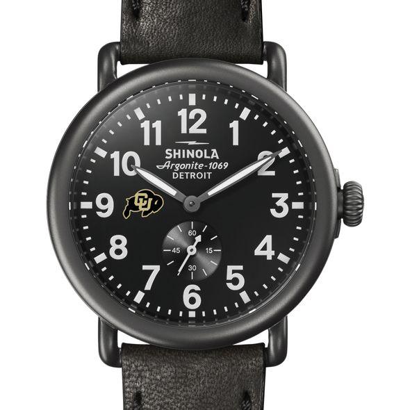 Colorado Shinola Watch, The Runwell 41mm Black Dial - Image 1