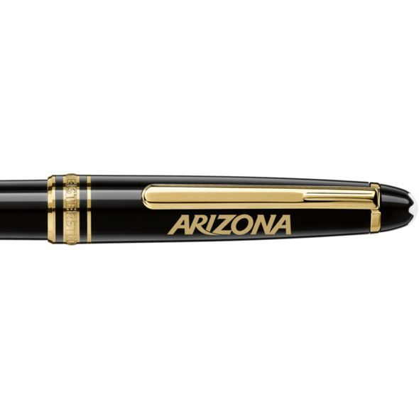 University of Arizona Montblanc Meisterstück Classique Ballpoint Pen in Gold - Image 2