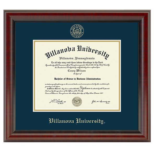 Villanova University Fidelitas Frame