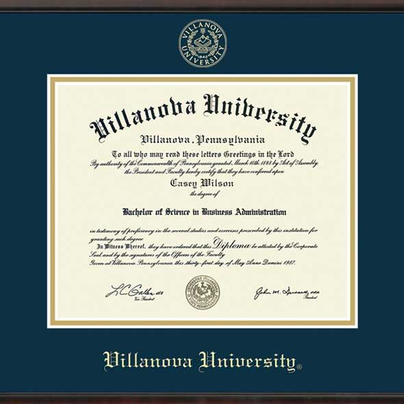 Villanova University Fidelitas Frame - Image 2
