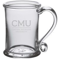 Central Michigan Glass Tankard by Simon Pearce