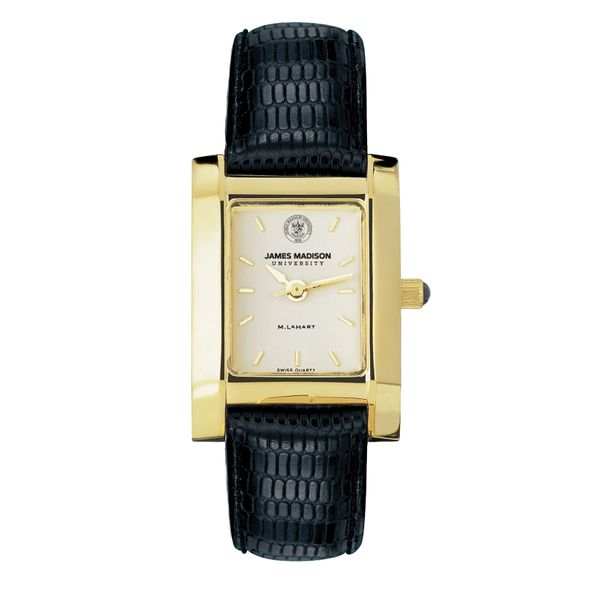 James Madison Women's Gold Quad with Leather Strap - Image 2