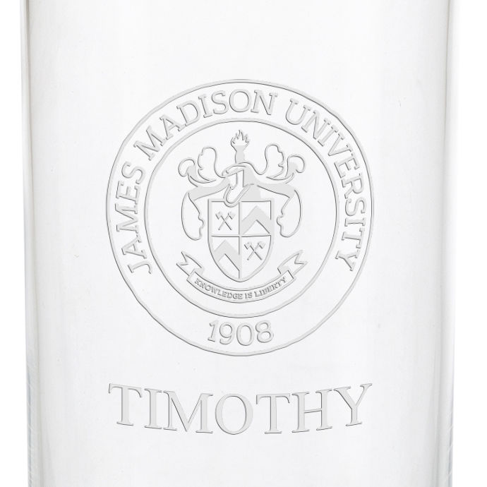 James Madison University Iced Beverage Glasses - Set of 2 - Image 3