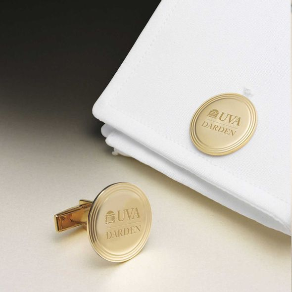 UVA Darden 14K Gold Cufflinks
