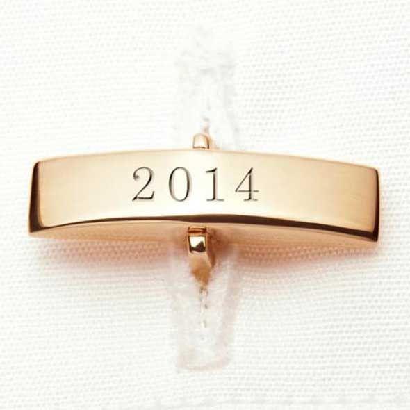 UVA Darden 14K Gold Cufflinks - Image 3