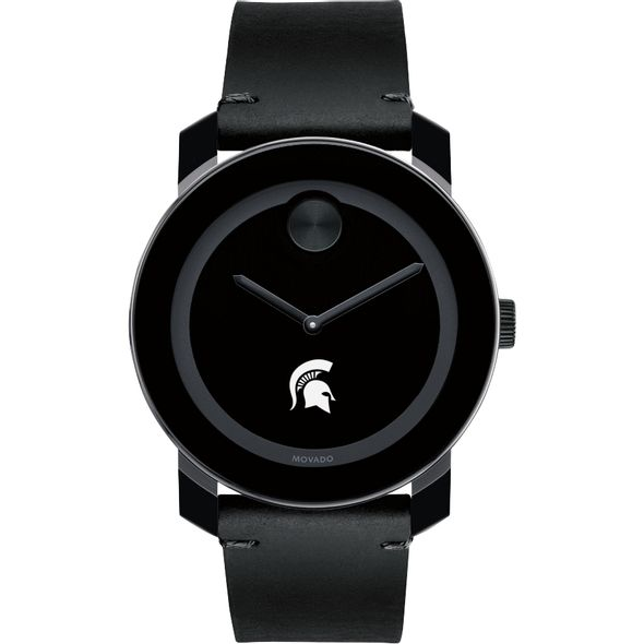 Michigan State University Men's Movado BOLD with Leather Strap - Image 2
