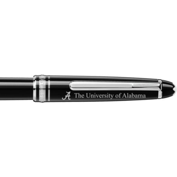 Alabama Montblanc Meisterstück Classique Rollerball Pen in Platinum - Image 2