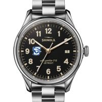 Creighton Shinola Watch, The Vinton 38mm Black Dial