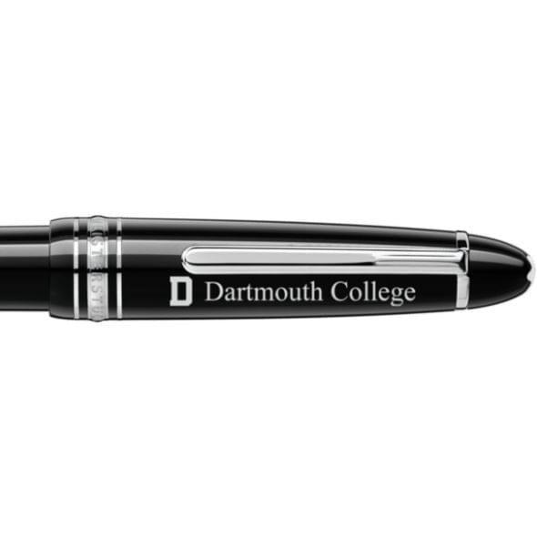 Dartmouth College Montblanc Meisterstück LeGrand Ballpoint Pen in Platinum - Image 2
