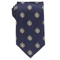 Naval Academy Insignia Tie in Naval Academy Blue