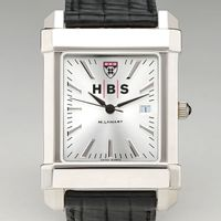 HBS Men's Collegiate Watch with Leather Strap