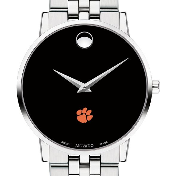 Clemson Men's Movado Museum with Bracelet