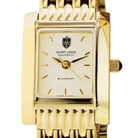 Saint Louis University Women's Gold Quad with Bracelet