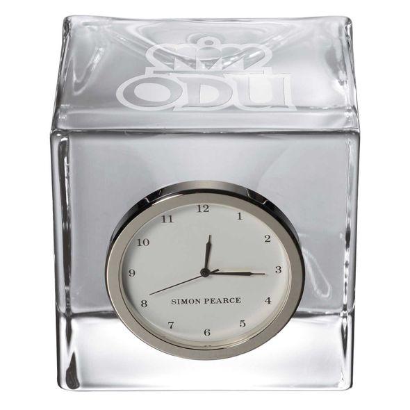 Old Dominion Glass Desk Clock by Simon Pearce - Image 2