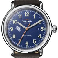SFASU Shinola Watch, The Runwell Automatic 45mm Royal Blue Dial