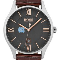 University of North Carolina Men's BOSS Classic with Leather Strap from M.LaHart