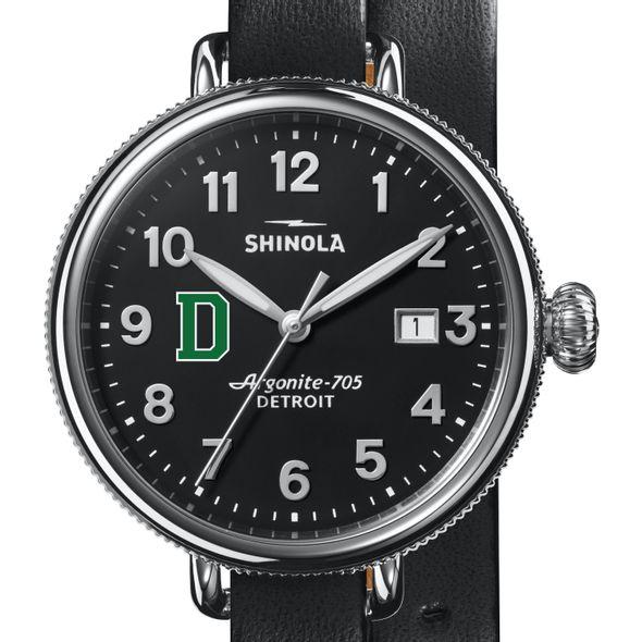 Dartmouth Shinola Watch, The Birdy 38mm Black Dial - Image 1