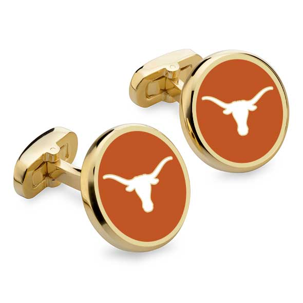 University of Texas Enamel Cufflinks