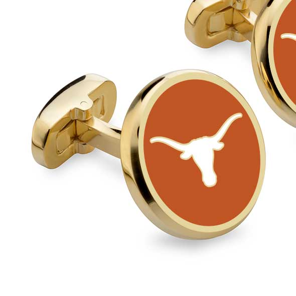 University of Texas Enamel Cufflinks - Image 2