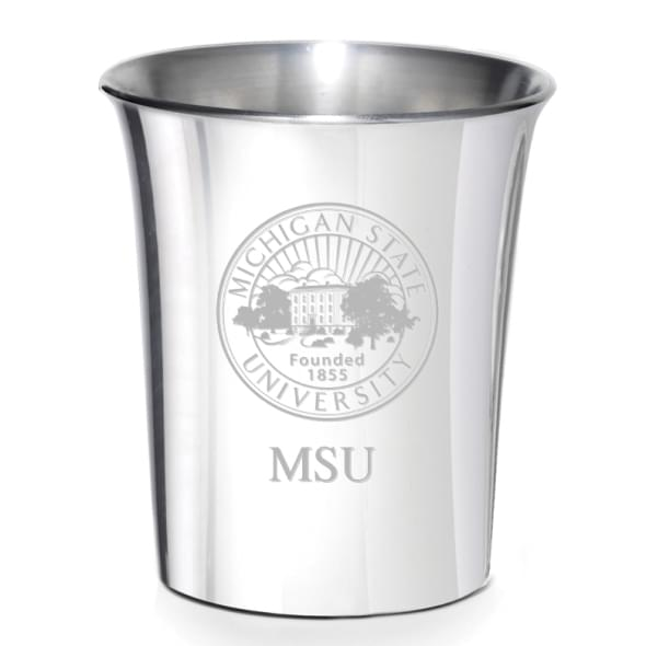Michigan State Pewter Jigger