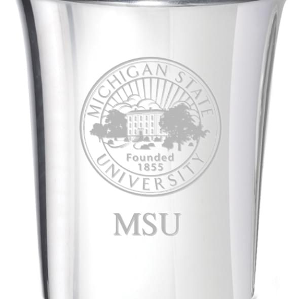 Michigan State Pewter Jigger - Image 2