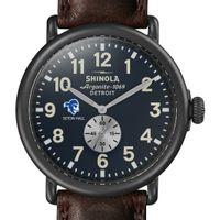 Seton Hall Shinola Watch, The Runwell 47mm Midnight Blue Dial