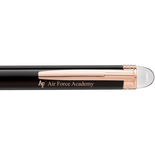 US Air Force Academy Montblanc StarWalker Ballpoint Pen in Red Gold - Image 2
