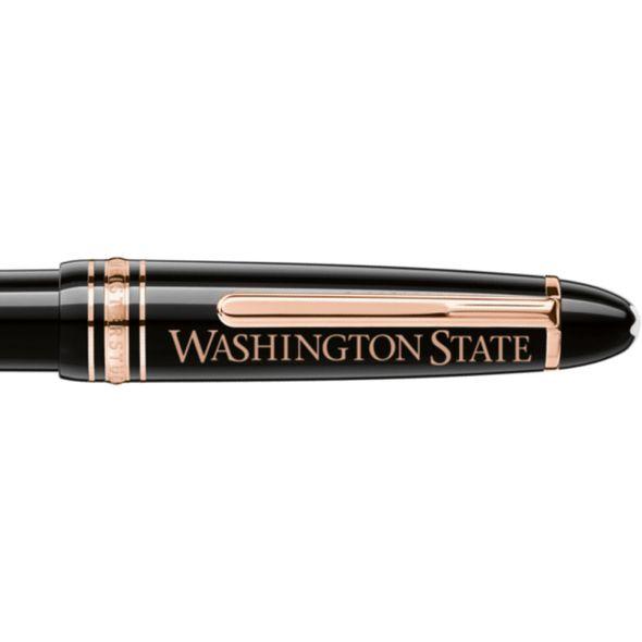 Washington State University Montblanc Meisterstück LeGrand Ballpoint Pen in Red Gold - Image 2