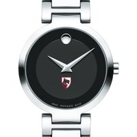 Carnegie Mellon University Women's Movado Museum with Steel Bracelet
