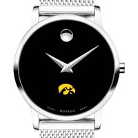 University of Iowa Women's Movado Museum with Mesh Bracelet