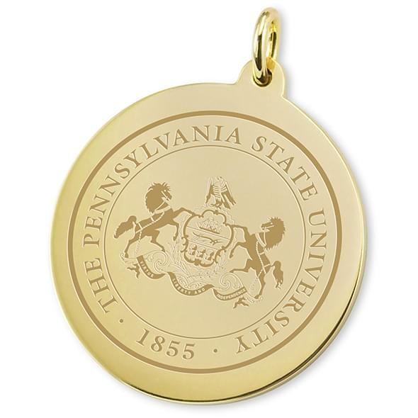 Penn State 18K Gold Charm - Image 2