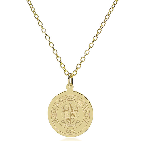 James Madison 18K Gold Pendant & Chain - Image 2