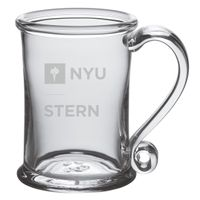 NYU Stern Glass Tankard by Simon Pearce