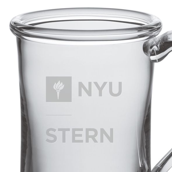NYU Stern Glass Tankard by Simon Pearce - Image 2