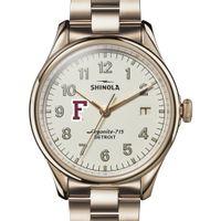 Fordham Shinola Watch, The Vinton 38mm Ivory Dial