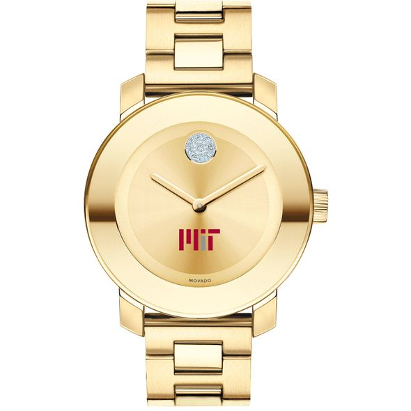 MIT Women's Movado Gold Bold - Image 2