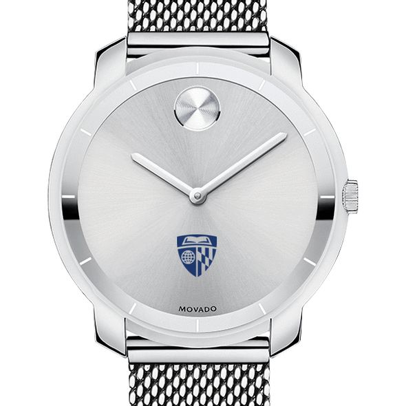 Johns Hopkins University Women's Movado Stainless Bold 36