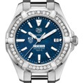Chicago Booth Women's TAG Heuer 35mm Steel Aquaracer with Blue Dial - Image 1