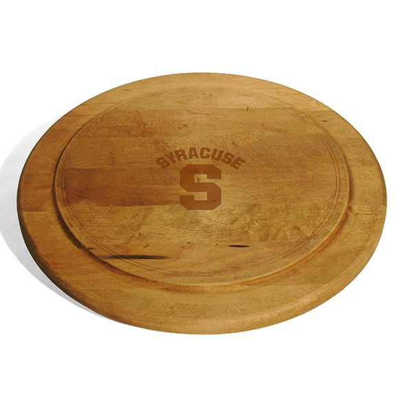 Syracuse University Round Bread Server