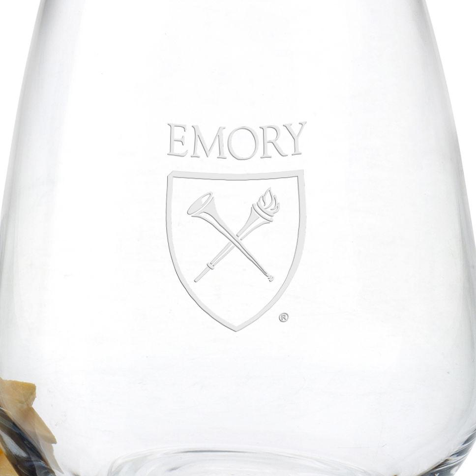 Emory Stemless Wine Glasses - Set of 4 - Image 3