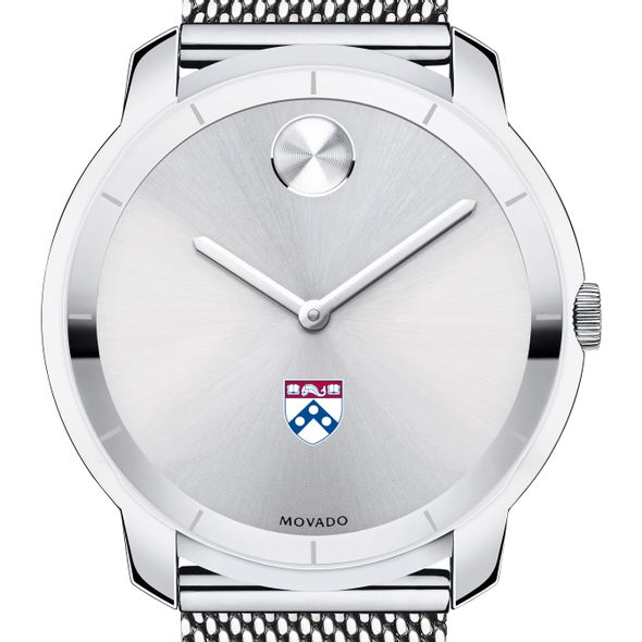 University of Pennsylvania Men's Movado Stainless Bold 44