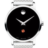 Clemson Women's Movado Museum with Mesh Bracelet