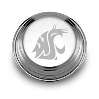 Washington State University Pewter Paperweight