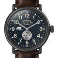 MIT Sloan Shinola Watch, The Runwell 47mm Midnight Blue Dial - Image 1